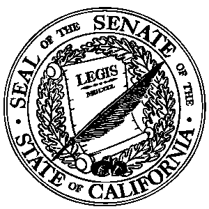 Senate seal - BW