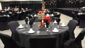 Table Decoration Setup