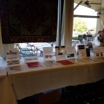 Silent auction items were an important fundraising component.