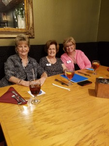 Sharon Kindig, Sandi Murphy and Jill Mellady