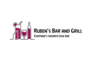 Ruben's Bar and Grill Logo