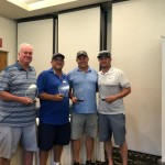 2nd Place Men's Team:   Gregg Liske, Matt Smith, David McWhirter, Anthony McWhirter