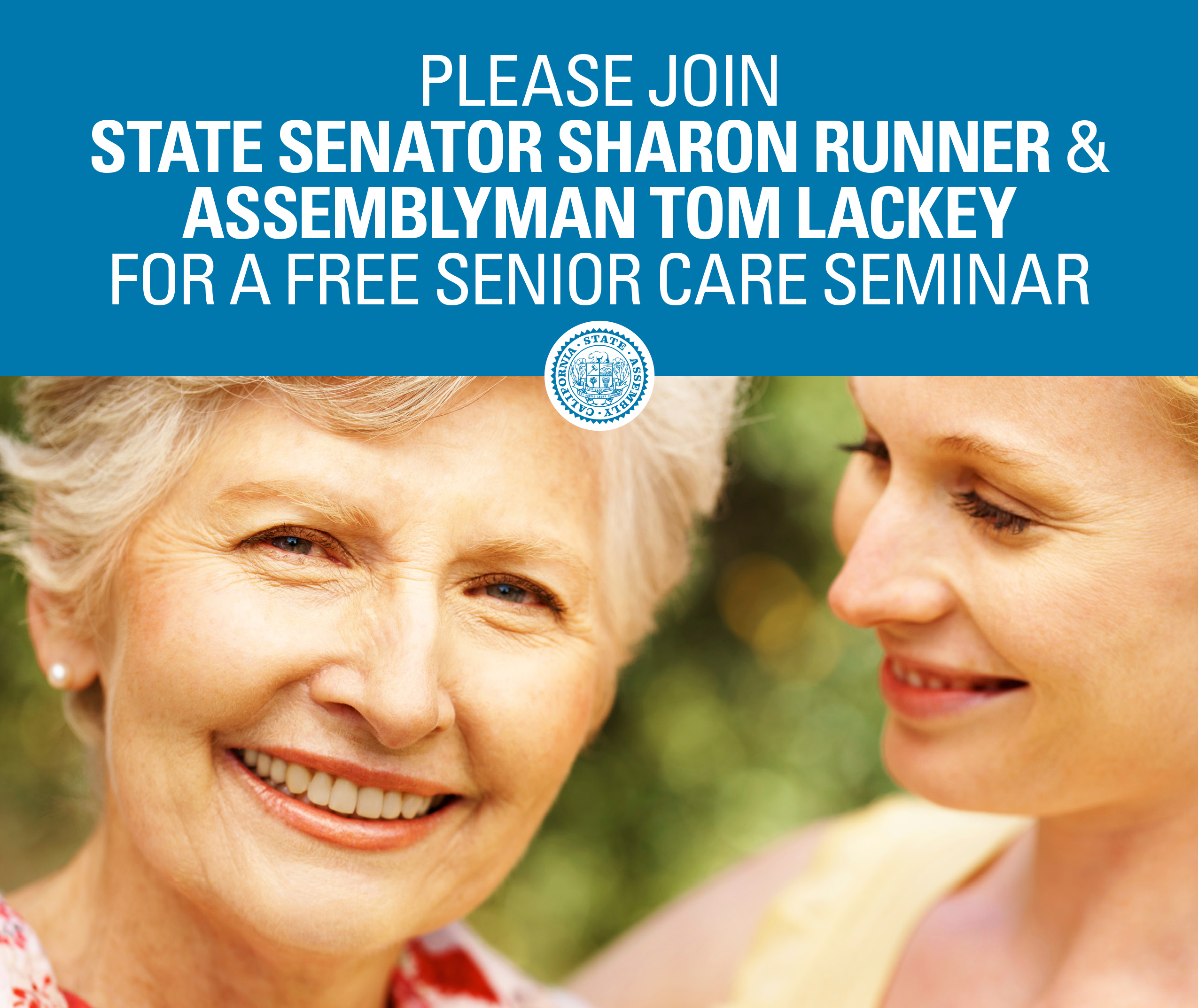 Senior Care Seminar Flyer