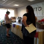 ALAV members donated some excellent opportunity baskets.