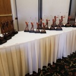 Trophies await the winners!
