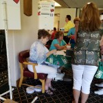 Volunteers helped coordinate the poker run.