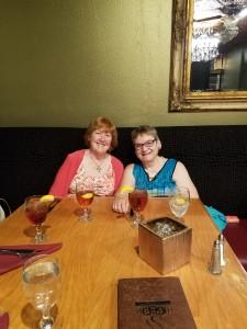 Nancy Bell and Sandra Barker