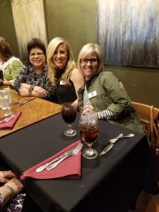 Judi Cruz, Megan Bohannan and Dondra Arcidiacono