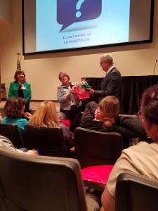 Assistance League of Antelope Valley extends sincere thanks to speaker Lt. Joe Laramie.